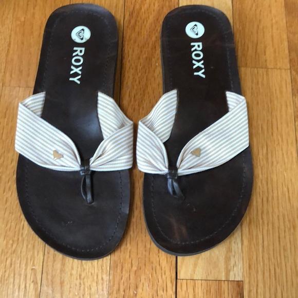 ROXY Flip Flops EUC